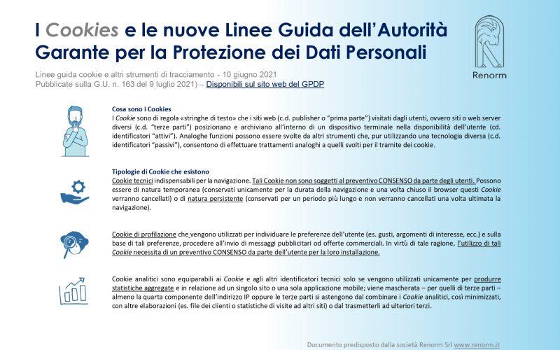 """""""Le nuove Linee guida Cookie pubblicate dall'Autorità Garante per la protezione dei dati personali"""""""